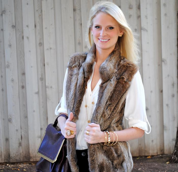 Fur Vest | The Style Scribe
