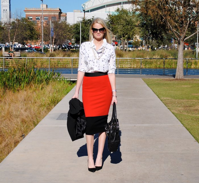 Red, Black & White | The Style Scribe