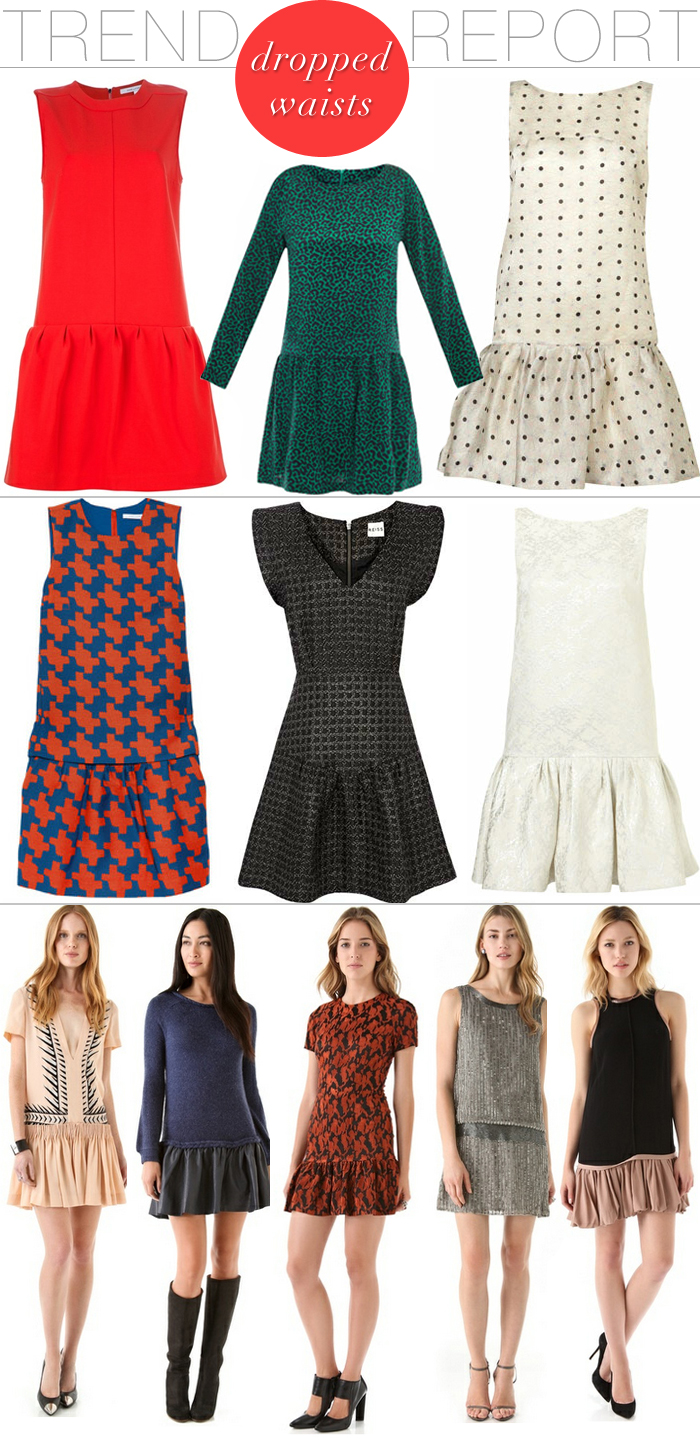 Trend Report - Dropped Waist Dresses