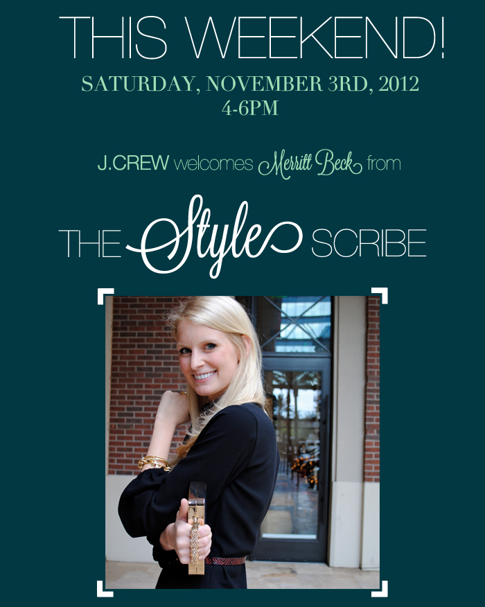 J.Crew + The Style Scribe