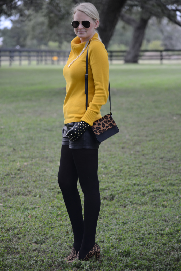 Banana Republic Mustard Sweater
