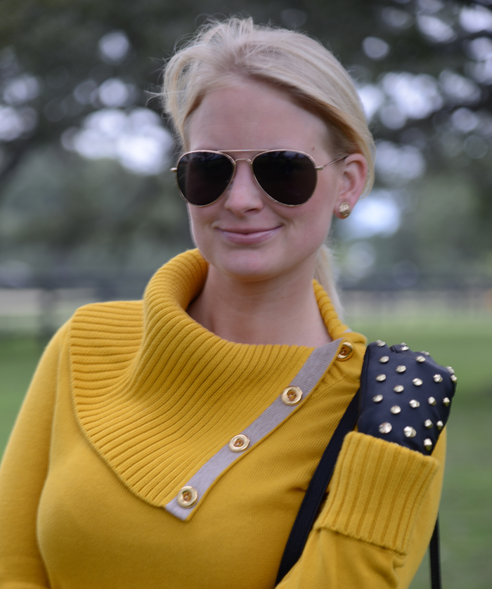 Banana Republic Mustard Sweater