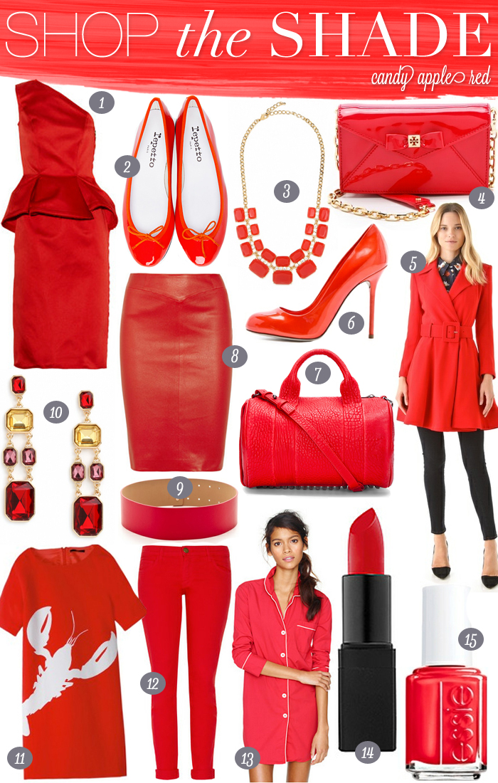 Shop The Shade - Candy Apple Red