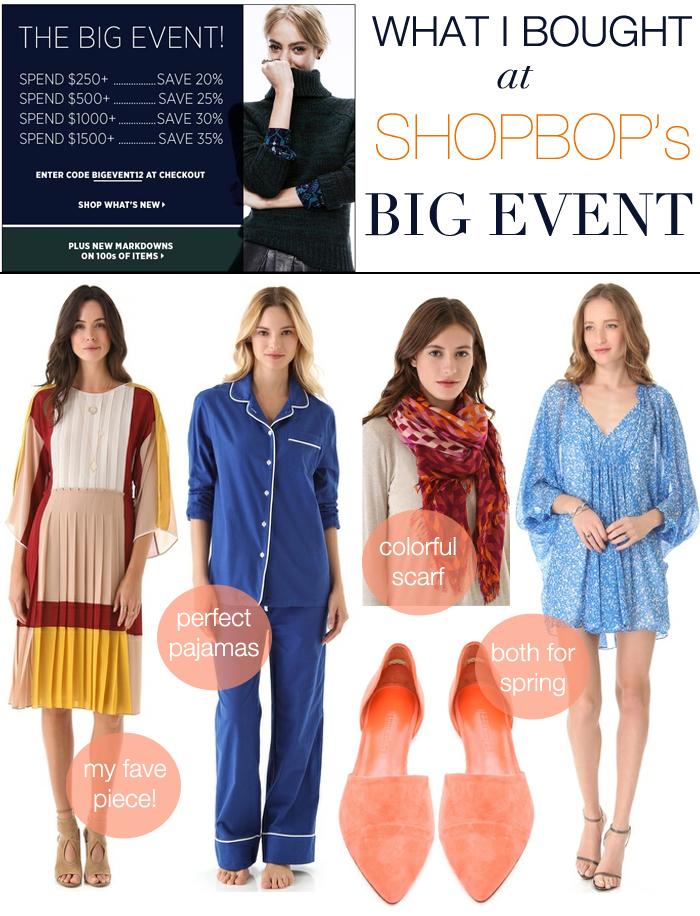 Shopbop's Big Event