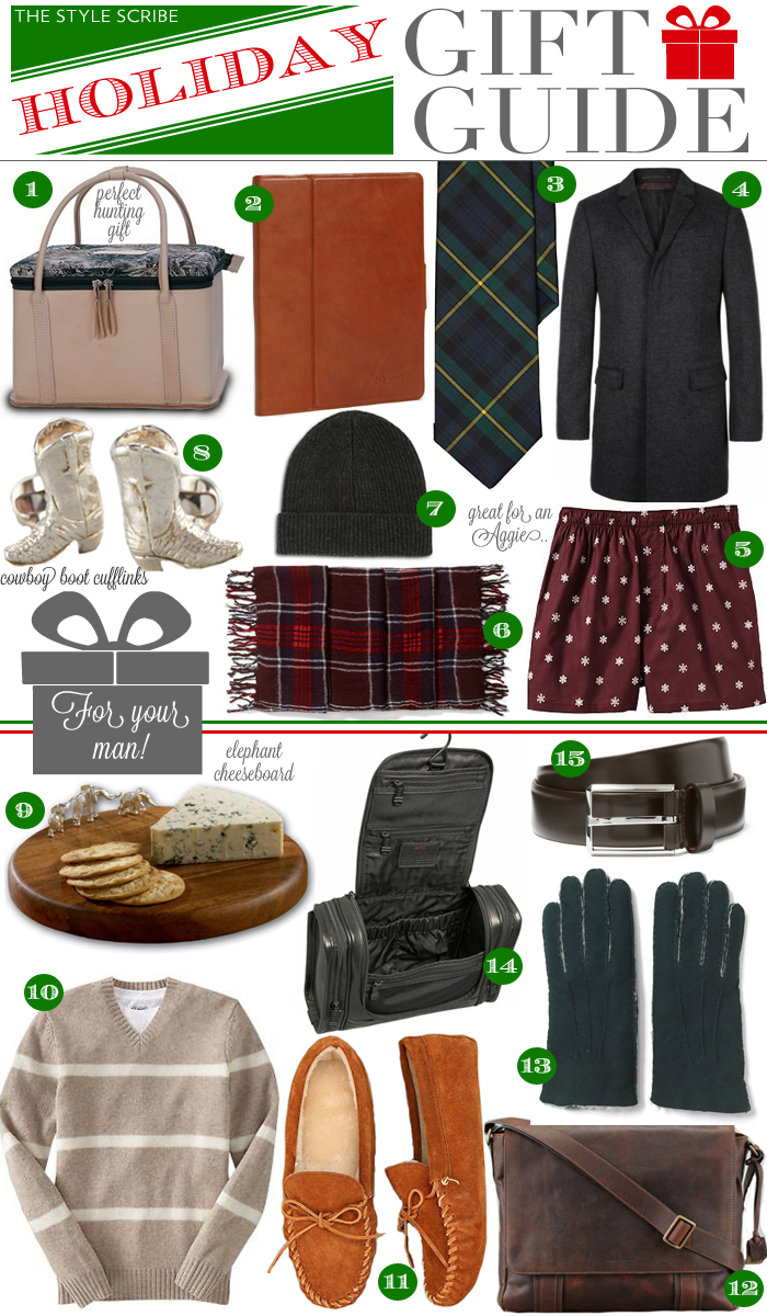 Holiday Gift Guide - For Your Man