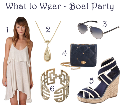 what to wear for boat party