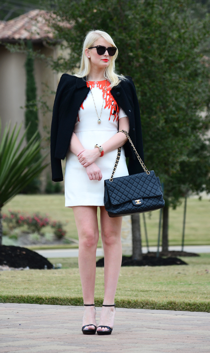 Tibi Coral Dress