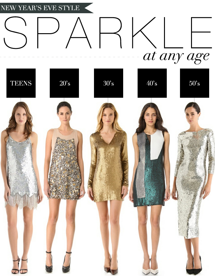 NYE STYLE - SPARKLE AT ANY AGE