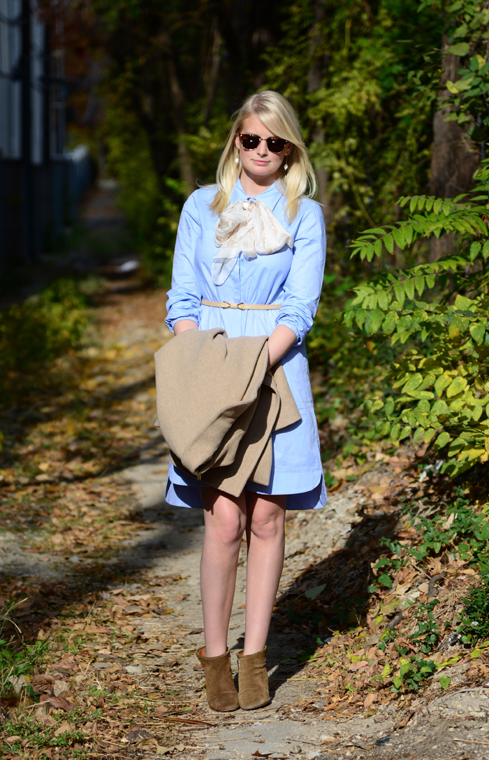 TIBI SHIRT DRESS