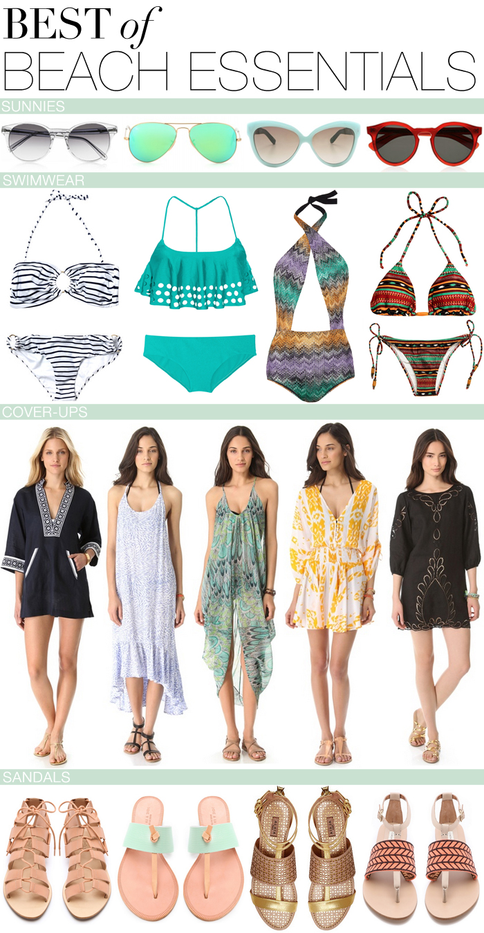Best of Beach Essentials | The Style Scribe
