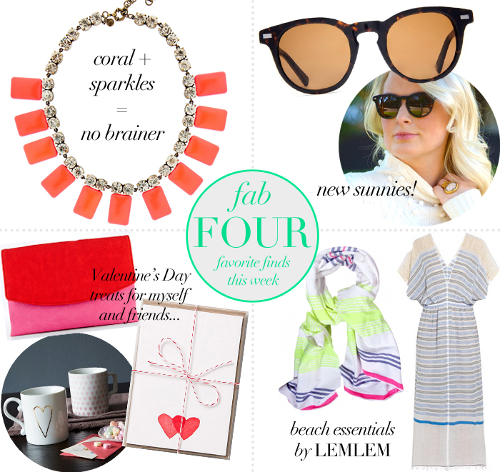 Fab Four - Favorite Finds This Week