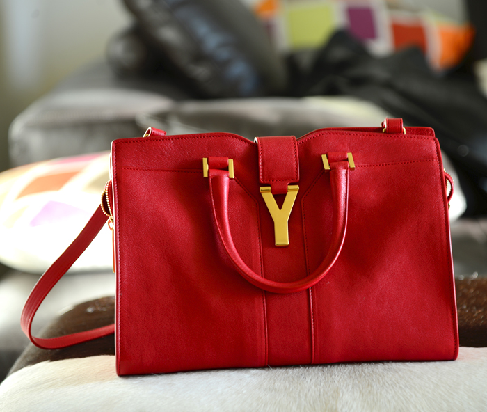 YVES SAINT LAURENT MINI CHYC BAG