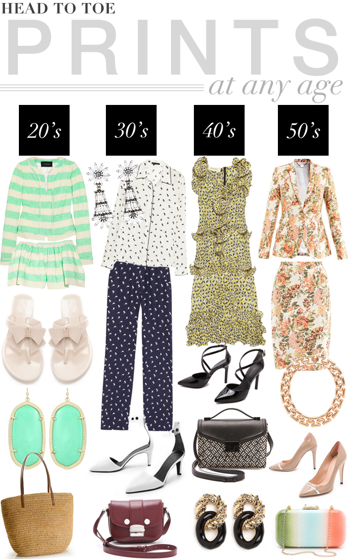 Head To Toe Prints At Any Age | The Style Scribe