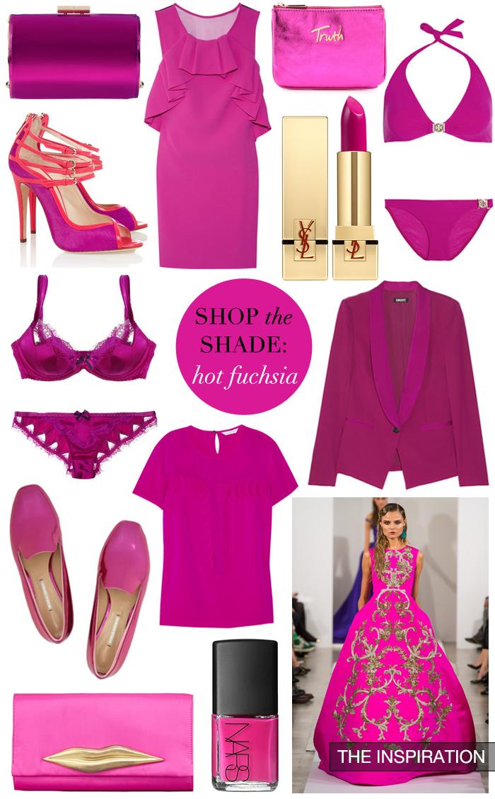Shop The Shade - Hot Fuchsia   The Style Scribe