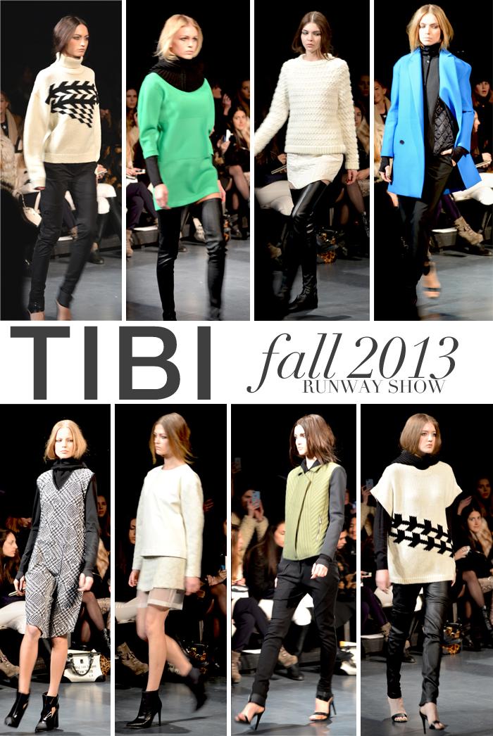 Tibi Fall 2013 Runway Show