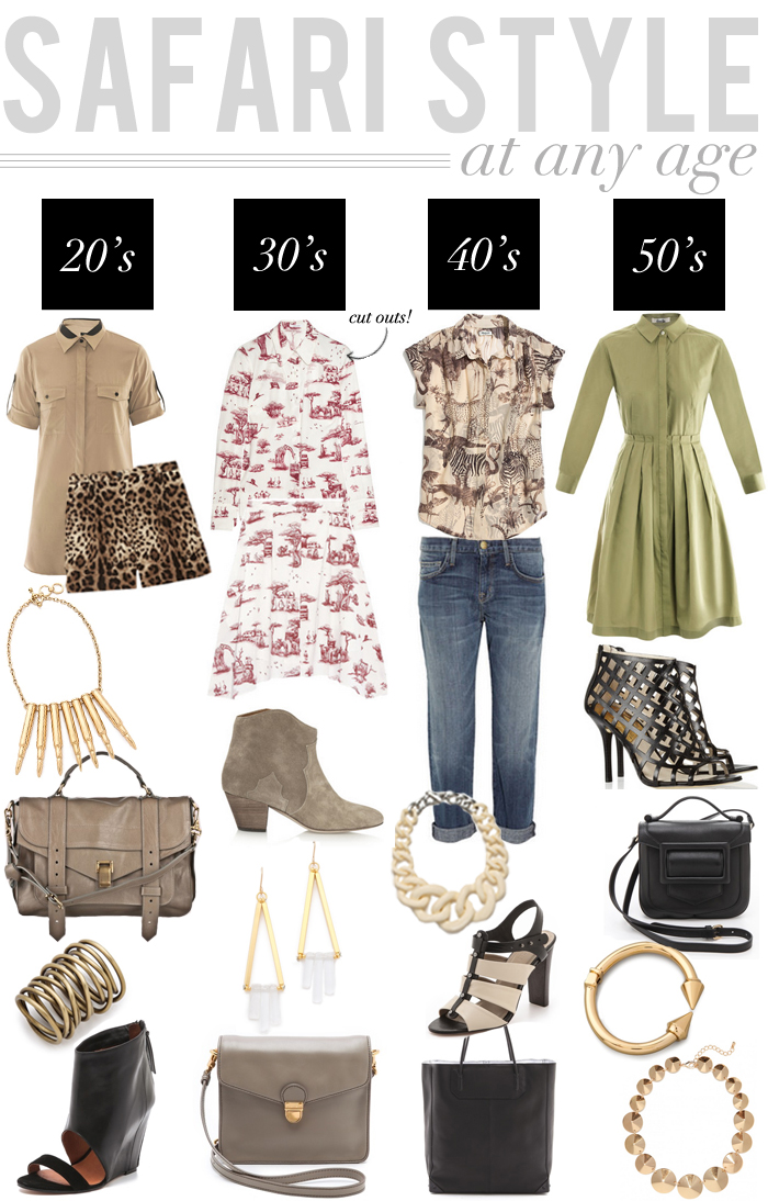 Safari Style - At Any Age | The Style Scribe