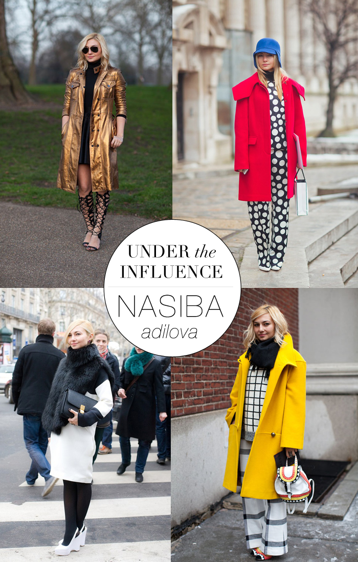 Under The Influence - Nasiba Adilova | The Style Scribe