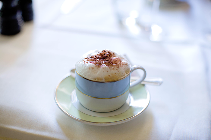 Laduree Cappucino, Paris | The Style Scribe