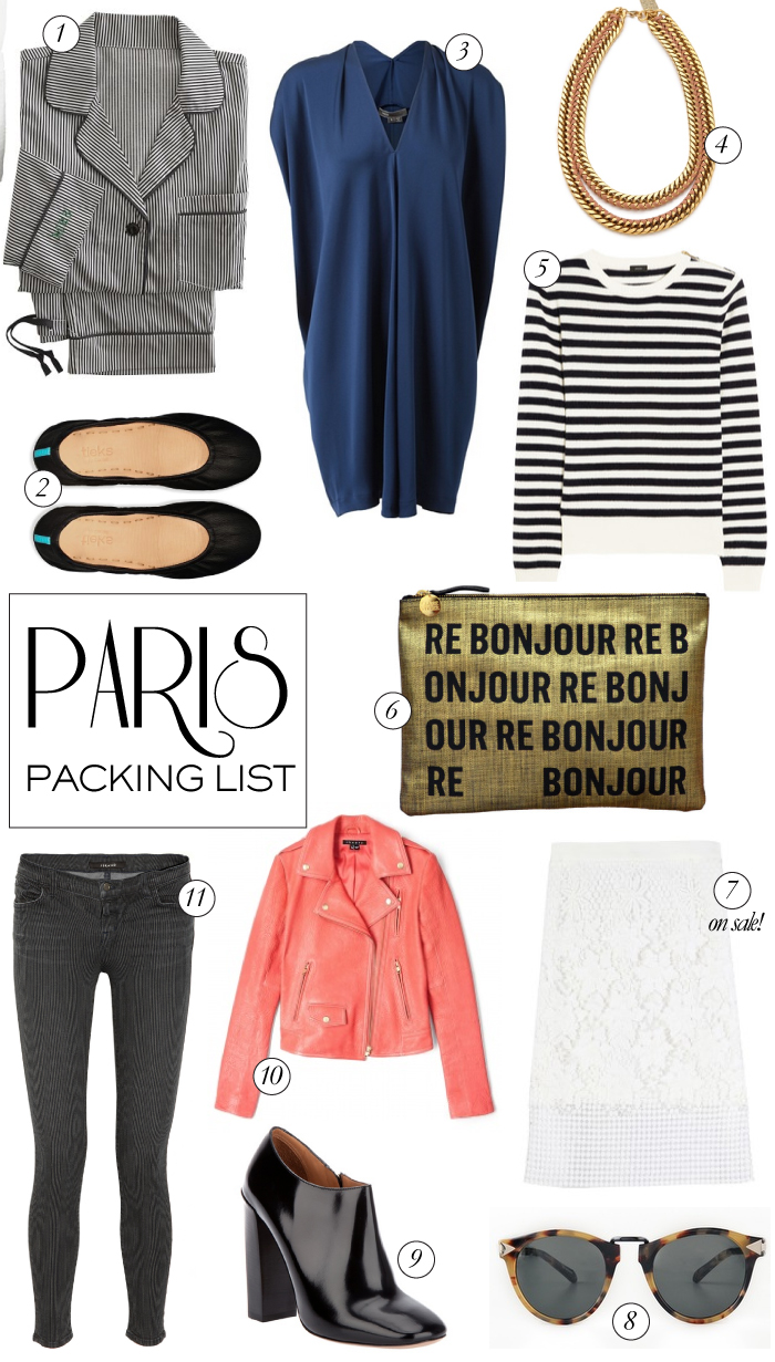 Paris Packing List | The Style Scribe