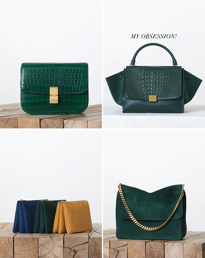 Green Celine | The Style Scribe
