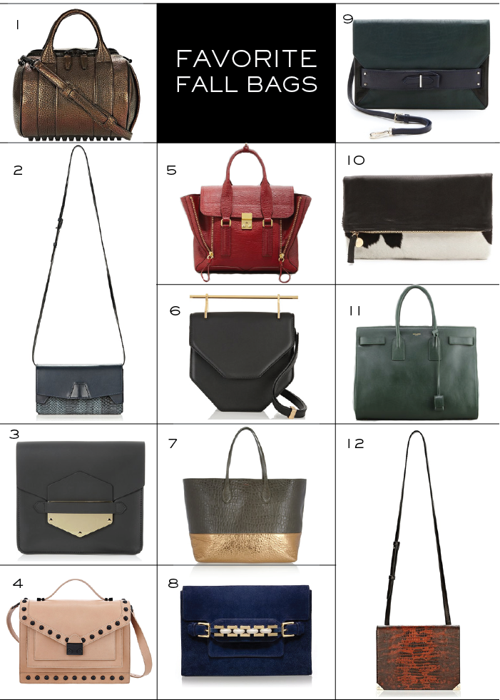Favorite Fall Bags | The Style Scribe