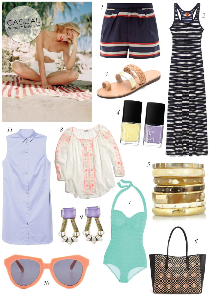 Casual Summer Favorites | The Style Scribe