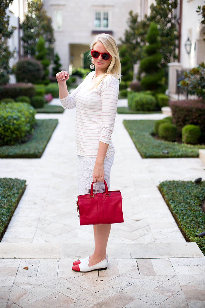 Red, White And...   The Style Scribe