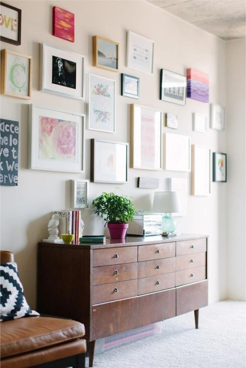 {Gallery Walls} | The Style Scribe