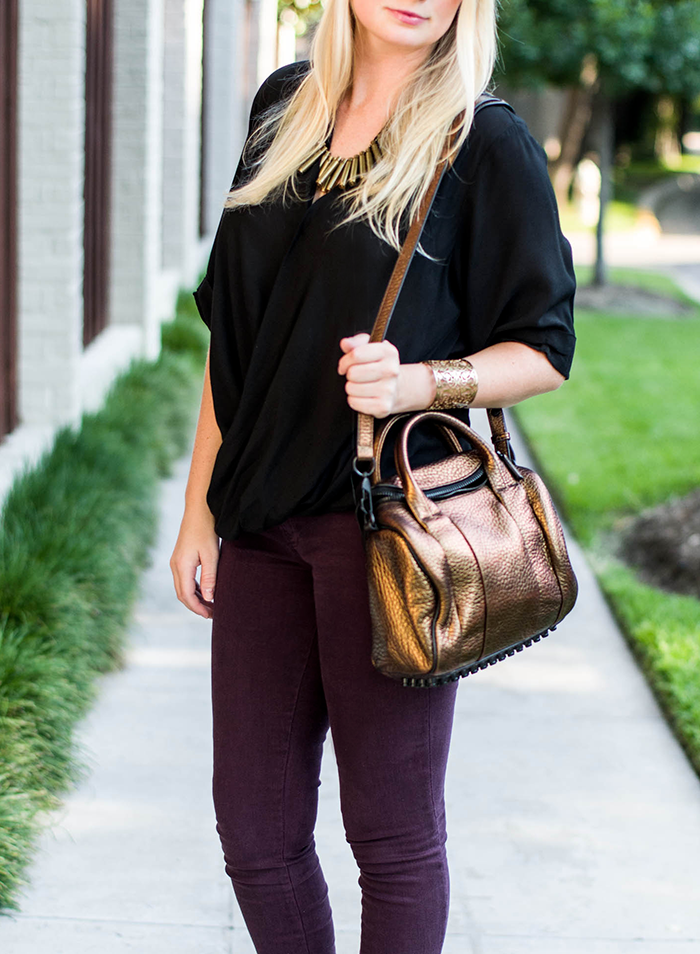 Bronze + Plum | The Style Scribe