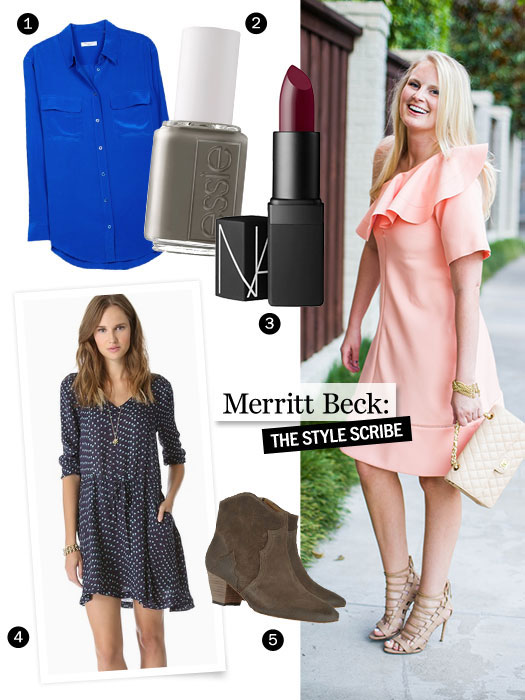 Marie Claire Blogger Feature Fall | The Style Scribe