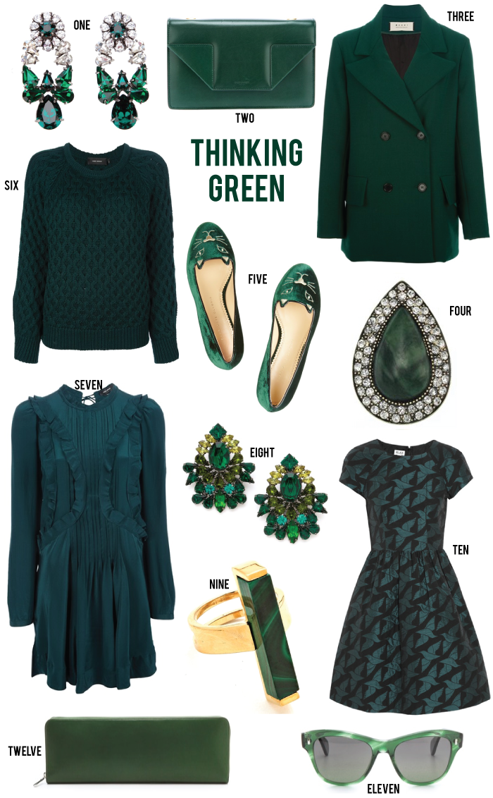 Thinking Green | The Style Scribe
