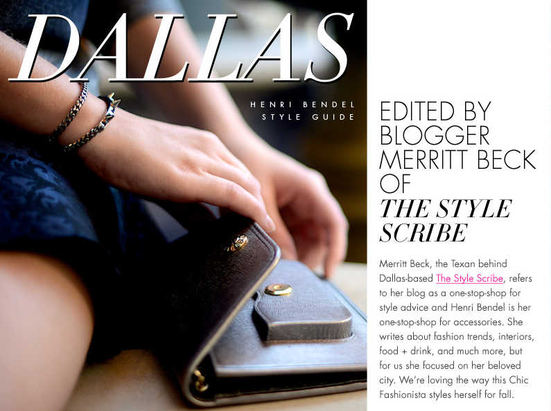 Henri Bendel Fall Style Guide   The Style Scribe