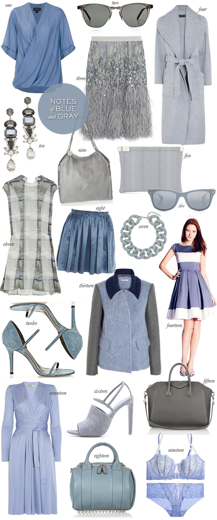 Notes of Blue and Gray | The Style Scribe