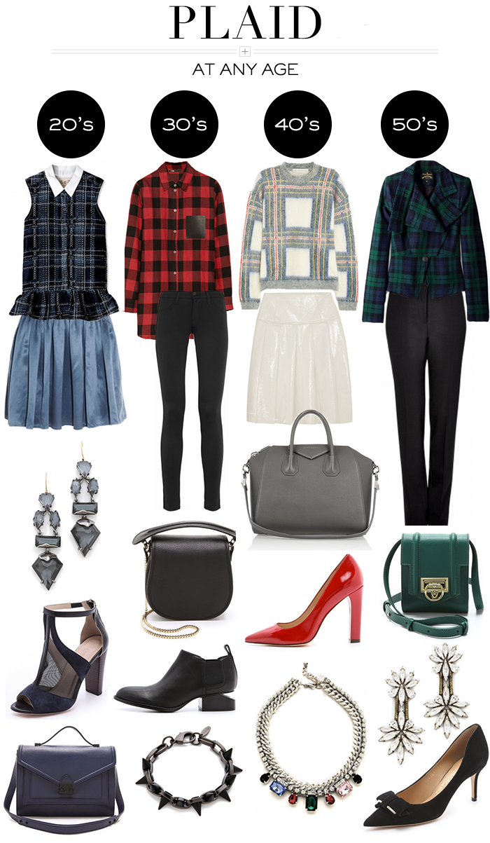 At Any Age // Plaid | The Style Scribe