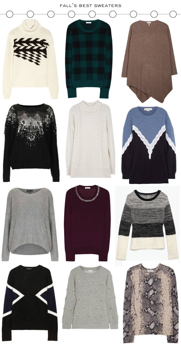 Fall's Best Sweaters | The Style Scribe
