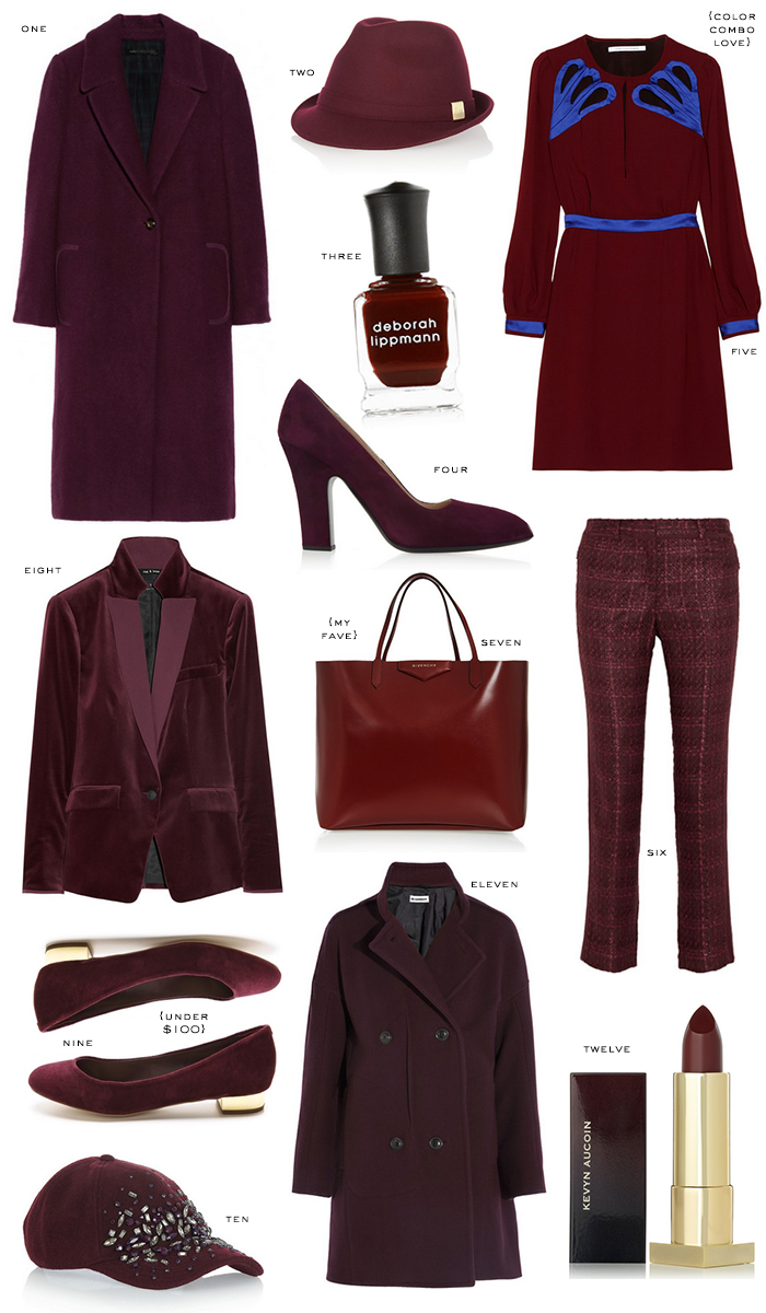 Best of Burgundy | The Style Scribe