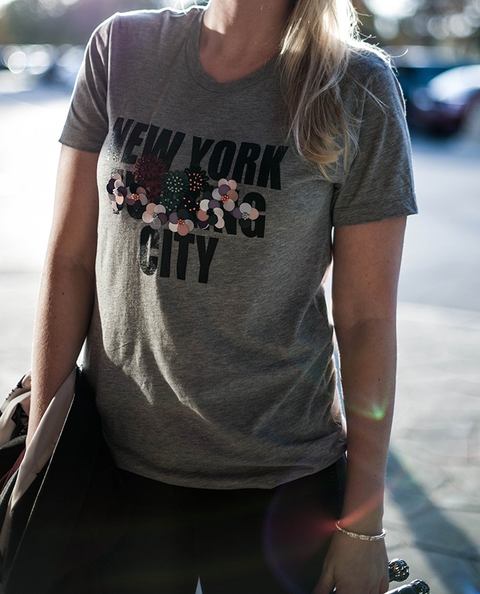 New York City Tee by Cynthia Rowley | The Style Scribe