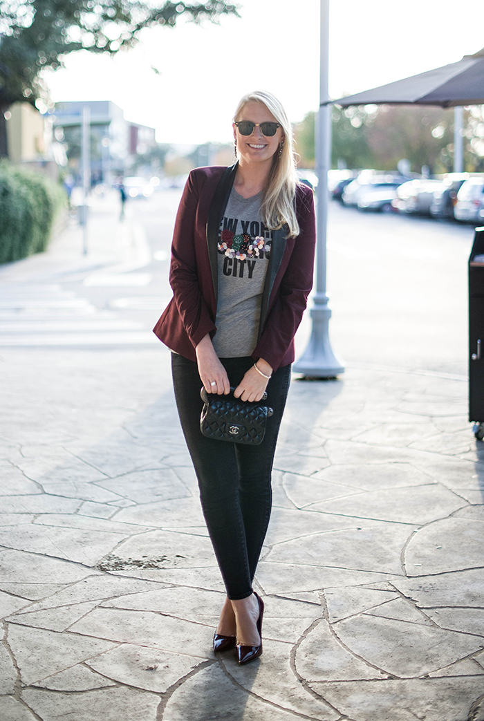 New York City Tee by Cynthia Rowley   The Style Scribe