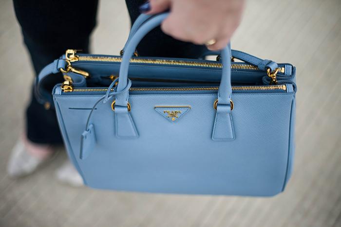 Prada Bag Baby Blue