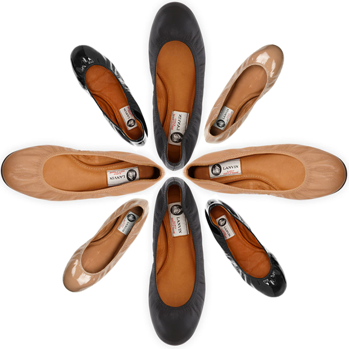 Back To Basics // Lanvin Flats | The Style Scribe