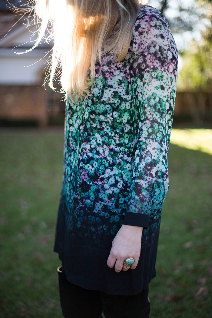 French Connection Blossom Dress | The Style Scribe