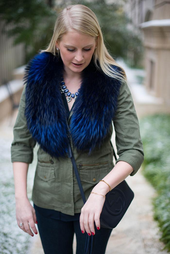 Blue on Green | The Style Scribe, Texas Fashion Blog, Austin Fashion Blog