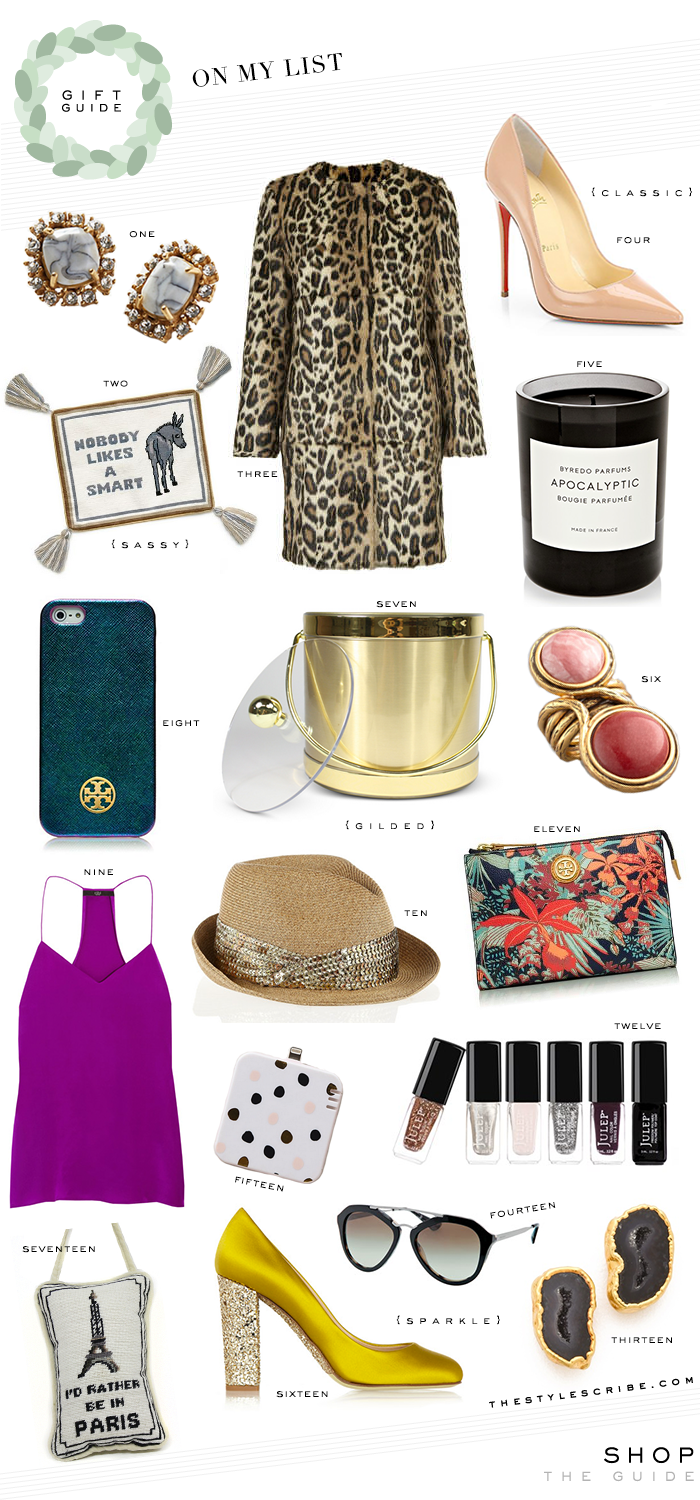 Holiday Gift Guide  | On My List