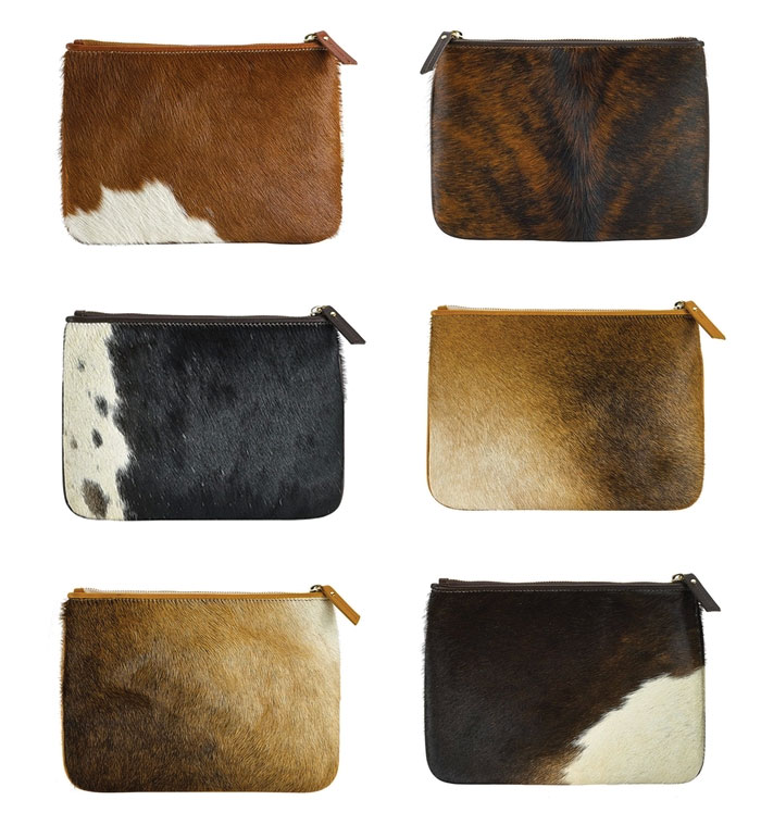 Natural American Haircalf bag Gigi New York