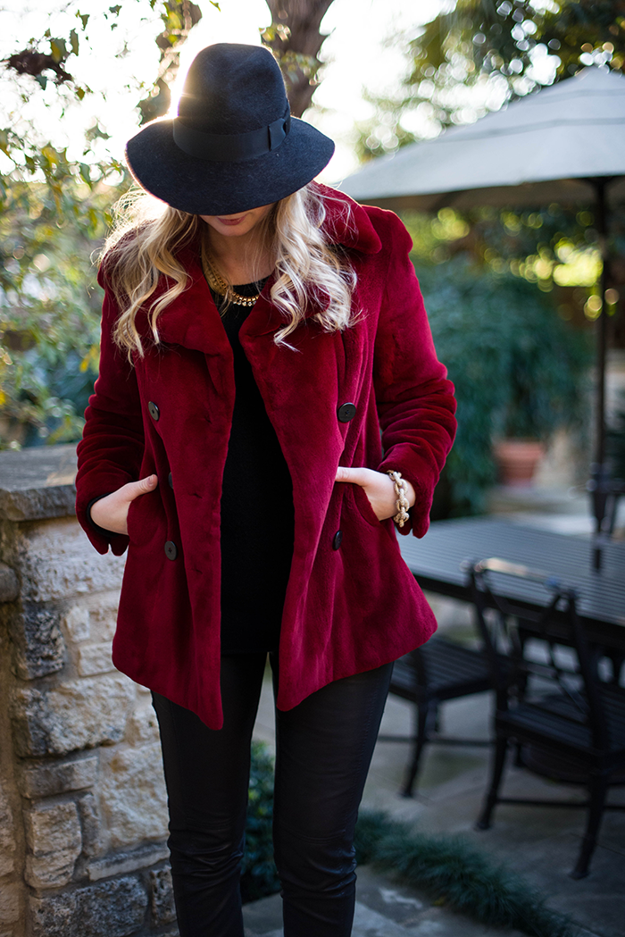 Red Coat | The Style Scribe
