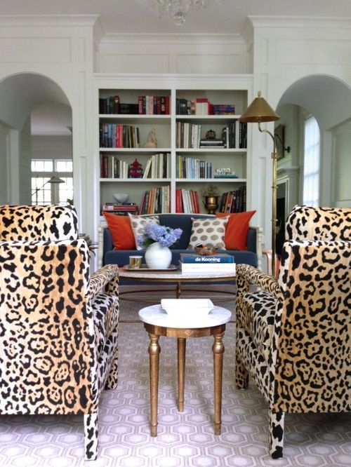 Animal Print Chairs   The Style Scribe