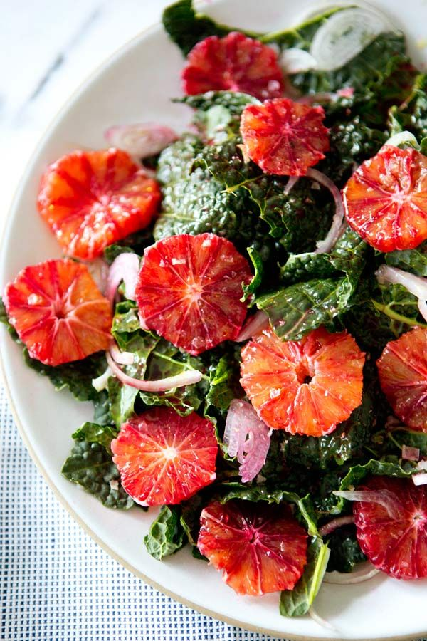 Kale and Blood Orange Salad   The Style Scribe