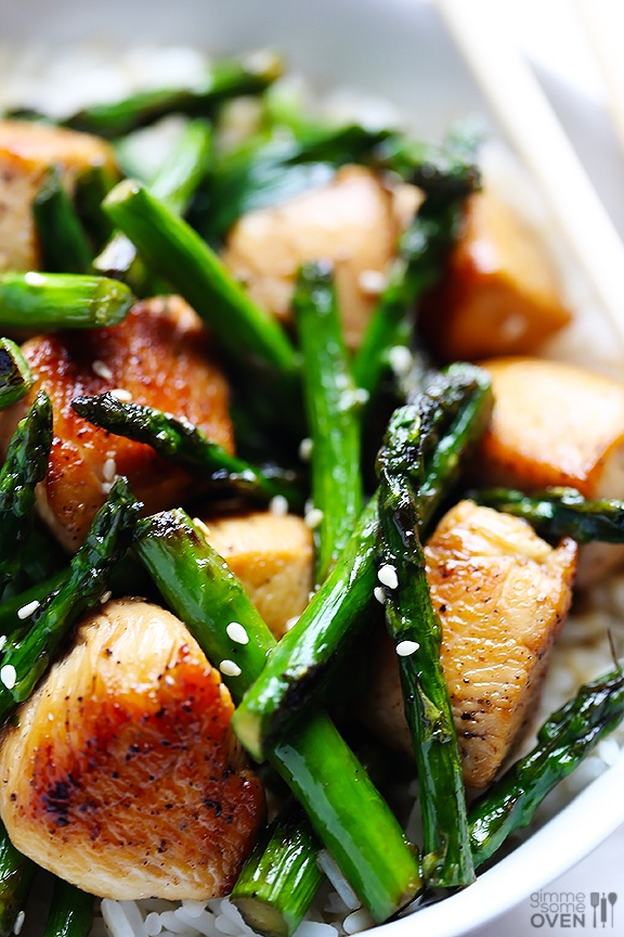Chicken and Asparagus Stir Fry   The Style Scribe