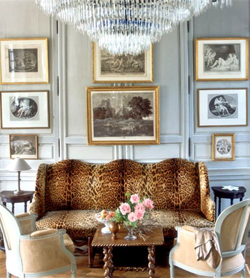 Animal Print Sofa   The Style Scribe