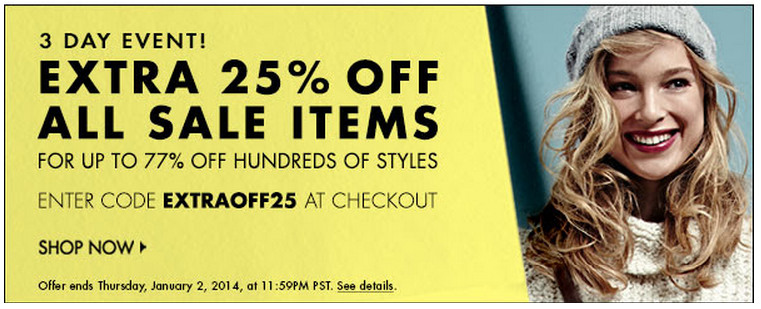 Shopbop Sale | The Style Scribe